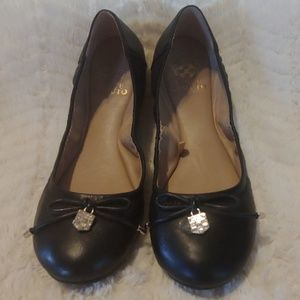 VINCE CAMUTO VP Eryn Leather Ballet Flats